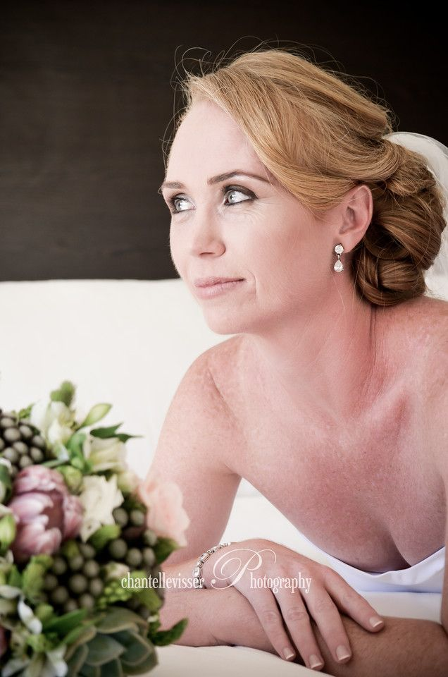 Gorgeous red headed Bride  | Weddings - Chantelle Visser Photography