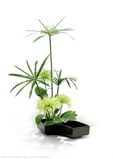 Ikebana (Japanese flower arrangement)