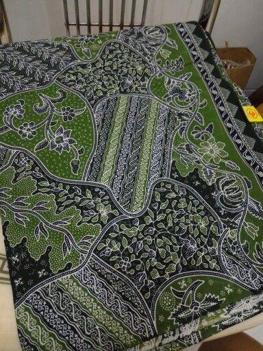 Greenie batik katun print