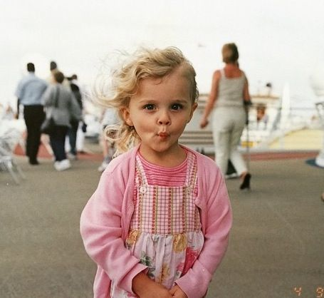 Chloe Grace Moretz. She's been adorable from day one.