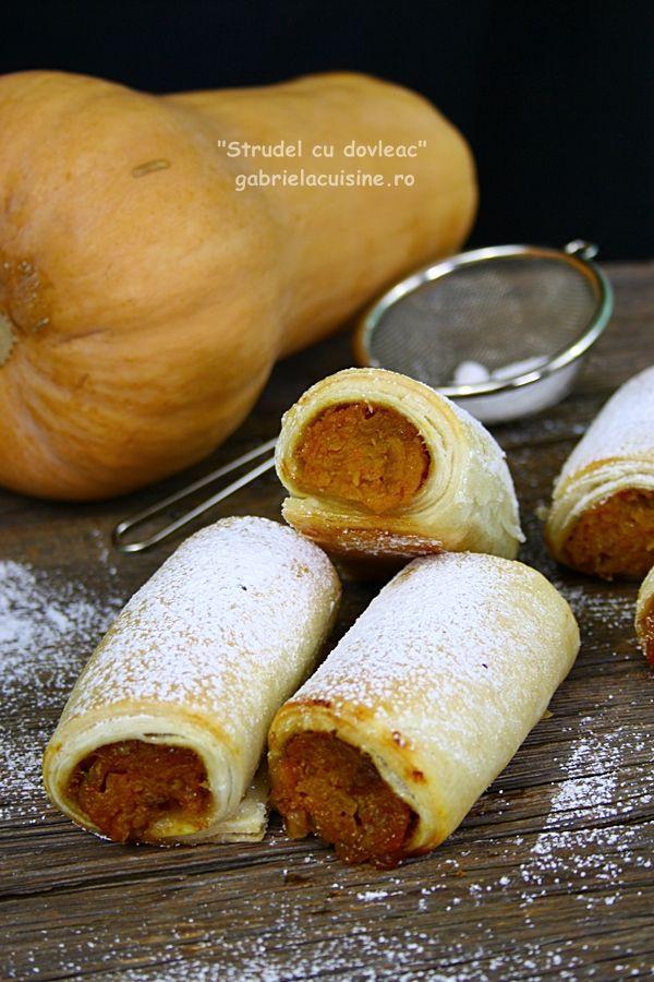 Strudel cu dovleac | gabriela cuisine - recipes