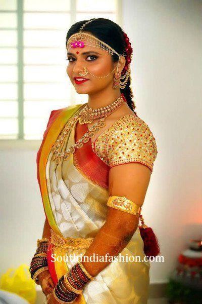 real weddings, south indian telugu bride , real south indian weddings