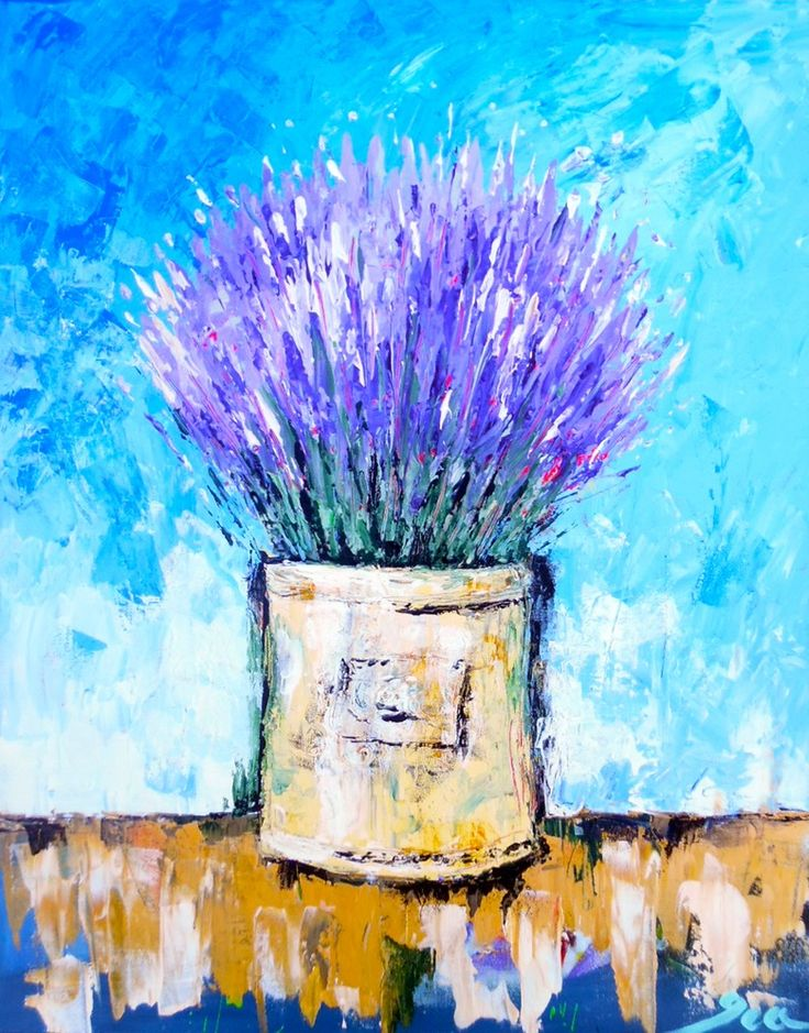 Image of Lavender Blooms www.artbyira.net