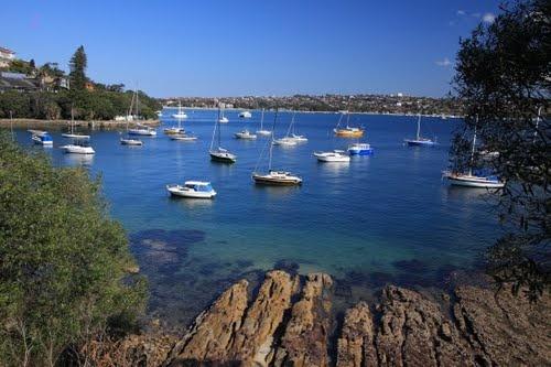 Hermit Bay in Vaucluse