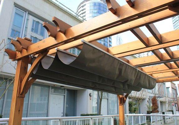 12x16 Breeze Pergola With Retractable Canopy Home