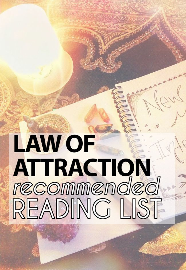 Law of Attraction Reading List | Self-Growth & Empowerment Books | Dig deeper into your life and your soul | Read more on LivingLovelee.com