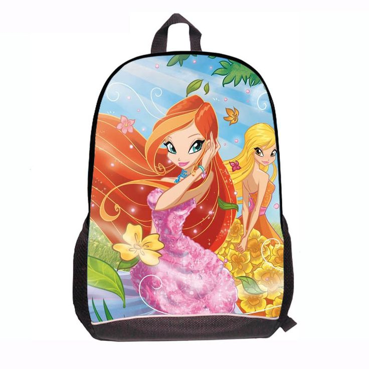 Winx Club School Bag for Students school back packs book bags for teenagers winx club butterfly princess children school bags