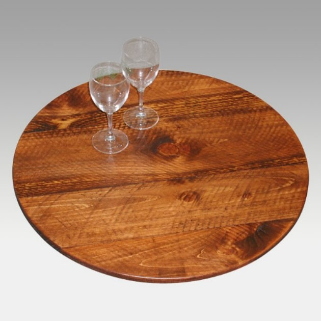2 Day Designs Reclaimed Bistro 20 Inch Lazy Susan