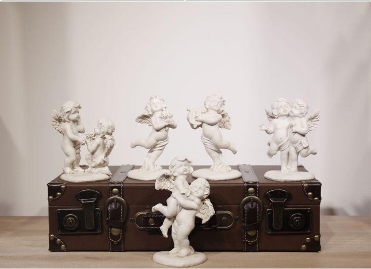 Смола садовые украшения европейского Китайский скидкой Свадьба херувим Купидон сделать старый ретро мебелью вход в - Taobao