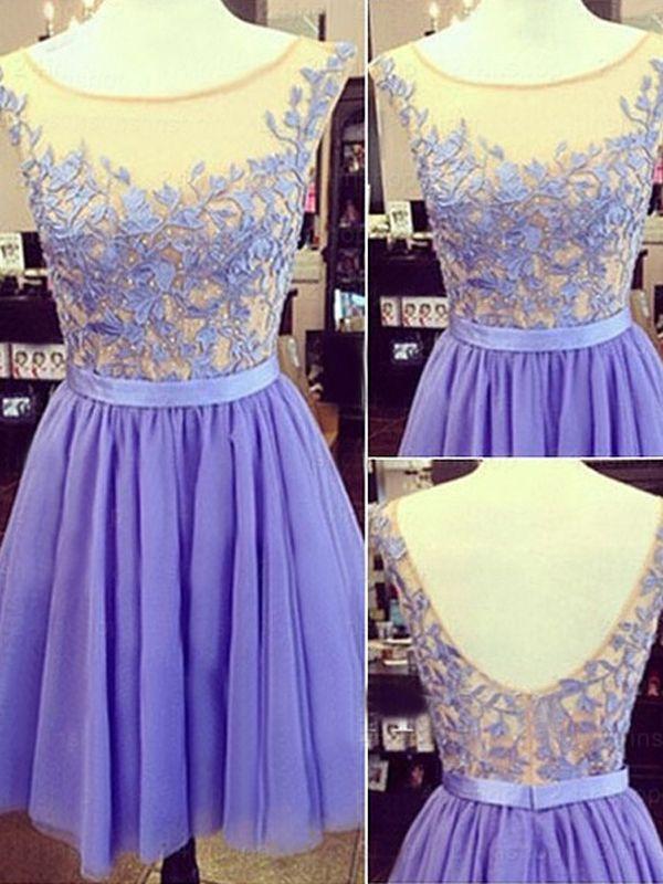 Abschlusskleider Abiballkleider lila