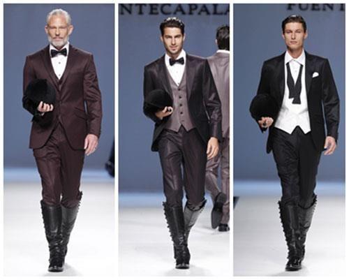 Необычные итальянские мужские костюмы