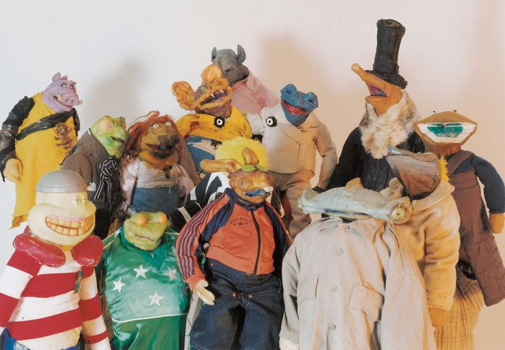 The incredible puppet show