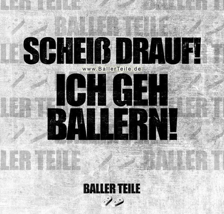 SCHEIß DRAUF! ICH GEH BALLERN! +++ Der Stoff den …