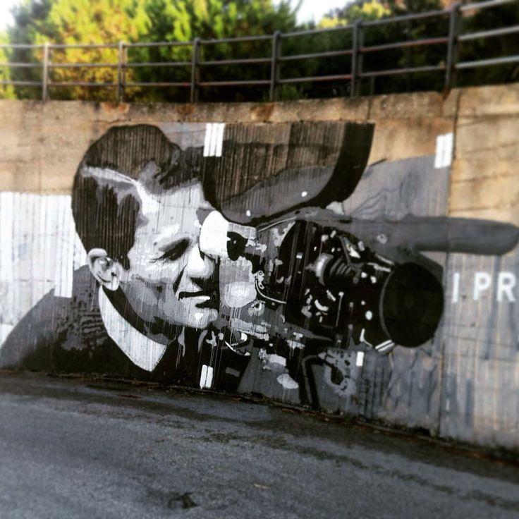 MuraldeTono #sicilia #ble #pierpaolopusolini #street art #castellamare