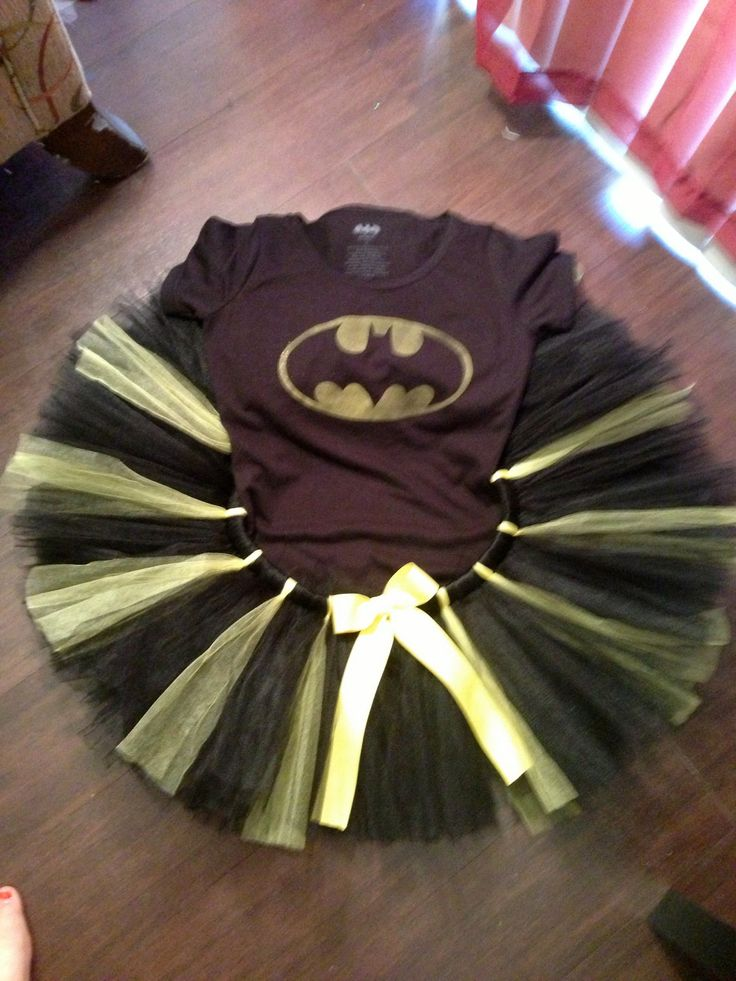 Adult Batman Tutu Costume. $45.00, via Etsy.