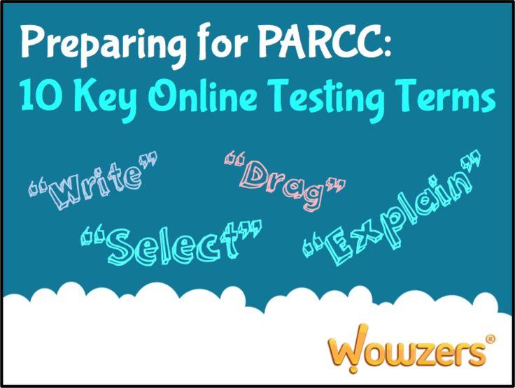 10 best PARCC Online Assessments images on Pinterest | Assessment ...