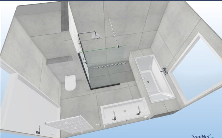 Indeling badkamer bad wc inloopdouche dubbele wastafel handdoek radiator