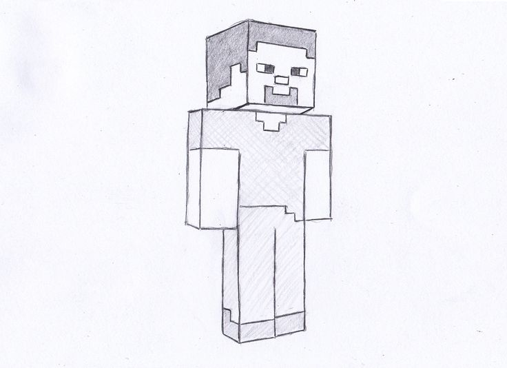 How Draw Minecraft Drawings