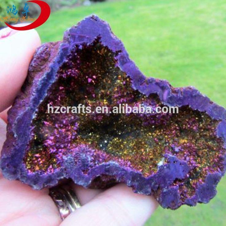 Angel aura healing quartz geode, large amethyst geode for sale