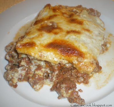 Thermomix lasagne