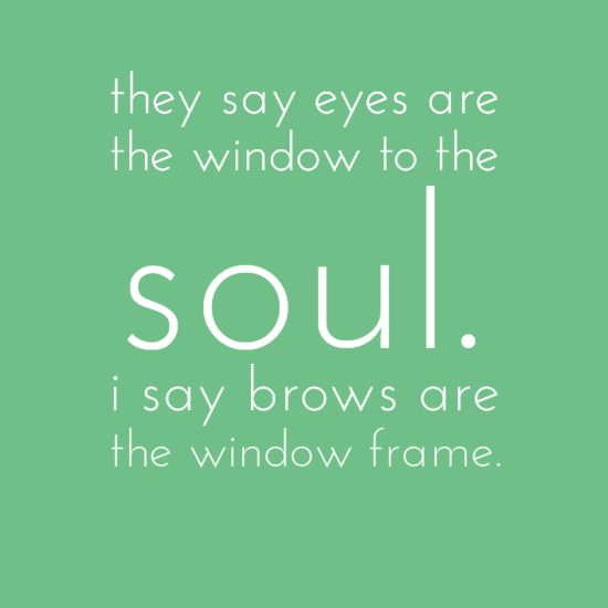 "Brows are the frame of your face! #eyebrows #browwaxing #sandiegoskincare | In San Diego? Come see me for beautiful ""frames!"" SkinCareStudioSD.com"