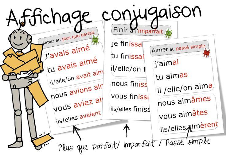 Voici mes affichages de cette année en français, les autres suivront bientôt.( En lien avec ma méthode de grammaire et de conjugaison :ici ) Vous trouverez dans chaque dossier , les couleurs différ…
