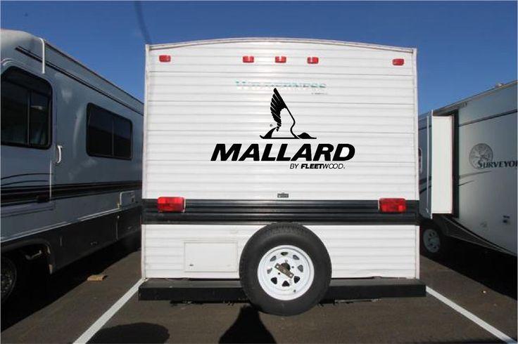 Mallard Fleetwood Camper RV Vinyl Decal Sticker 22x40 #unbranded