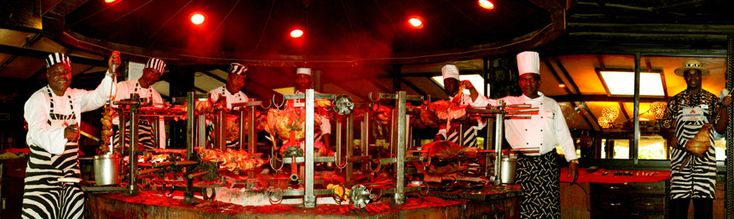 The Carnivore restaurant - the ultimate 'Beast of a Feast', Nairobi, Kenya