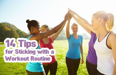 How to Stick with an Exercise Routine | SparkPeople