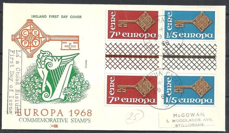 1968 Europa FDC with gutter pairs.JPG