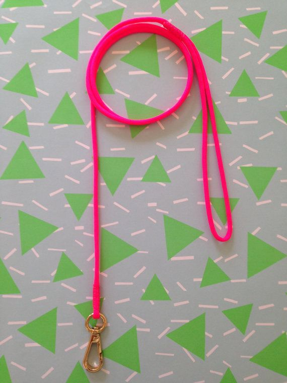 Hot Pink Dog Lead