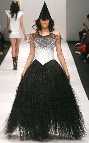 Maori fashion designer Shona Tawhiao