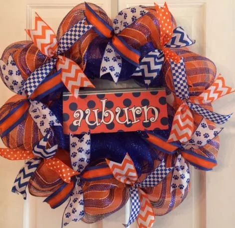 Photo:  Auburn Wreath