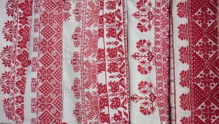 Antique cross stitch from Transylvania