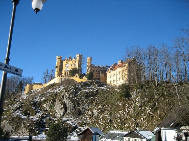Schloss Schwanstein, Fussen, Germany - Dec 2006