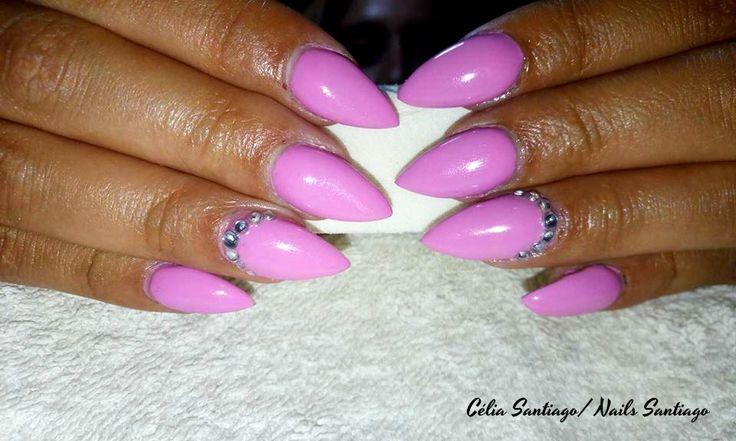 Diário Feminino: Unhas de Gel | Trabalho de Nails Santiago #5