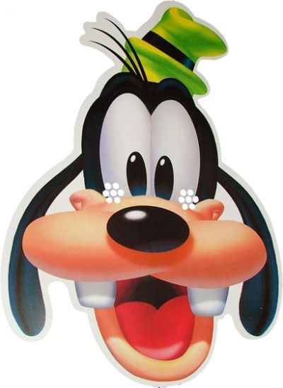 Pics Photos - Goofy Face Disney