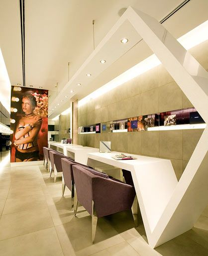 Architecture-Page | Xylys Watch Store by Praxis, Lotus Design Services (http://www.pinterest.com/AnkAdesign/stores/)