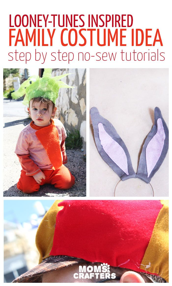 An adorable family costume idea - you'll love it! Includes DIY costume tutorials…