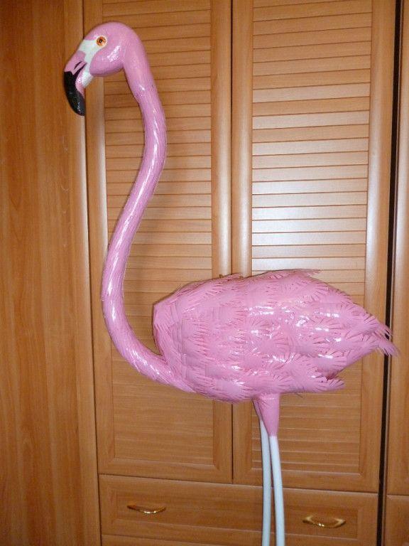немного фламинго из полторашек своими руками фото фоторамка