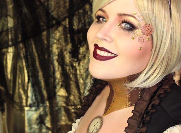 Steampunk Makeup and Hair   Краски для лица. Лучшие визажисты на ...