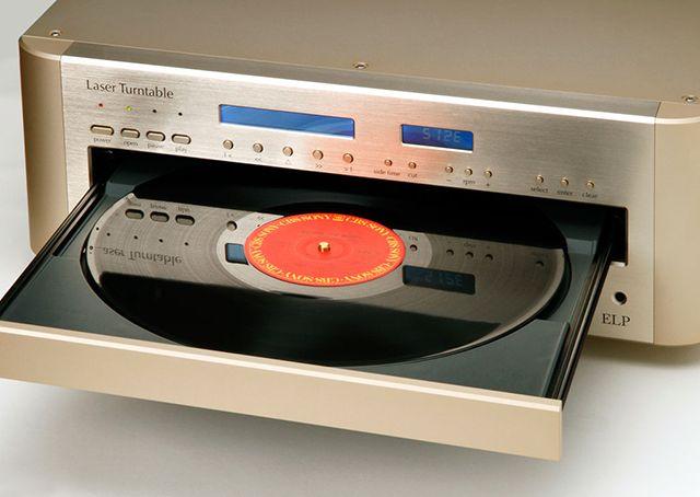 Vitrola japonesa utiliza laser para ler discos de vinil - Artigos - Tecnologia - Administradores.com