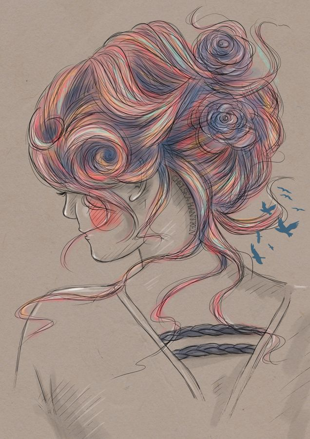 Raving Lunatic - martinekenblog:Beautiful drawings by Chelsea...