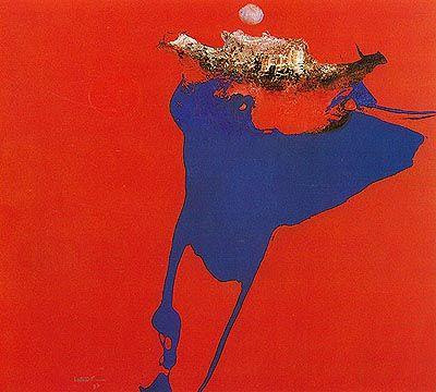 Equador Nº 2 1973 | Manabu Mabe óleo sobre tela, c.i.e. 180.00 x 200.70 cm Coleção Museu de Arte Moderna do Rio de Janeiro (RJ)