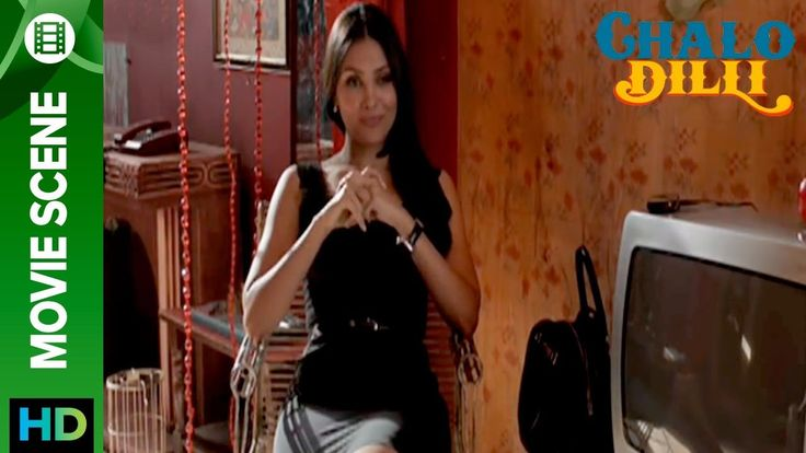 awesome Lara Dutta looks smoking hot in black dress - Chalo Dilli
