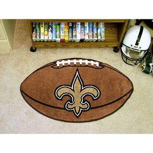 NFL - New Orleans Saints Football Rug