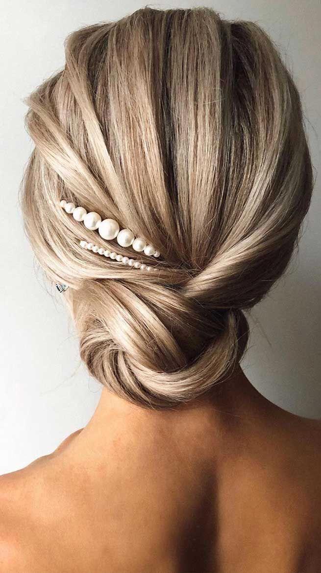 Romantic Wedding Updos Bridal Hairstyle Best Wedding Hairstyles 2020 Weddinghairstyles Bridalupdo Promh In 2020 Veil Hairstyles Wedding Hair Inspiration Hair Vine