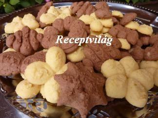 Vaníliás keksz (tészta kinyomóhoz) - RECEPTVILÁG - Receptes oldal - receptek képekkel