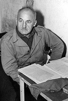 Julius Streicher (1885 – 1946) depraved sadist, fornicator, extortionist, pornographer. He was the founder and publisher of Der Stürmer newspaper, which became a central element of the Nazi propaganda machine.