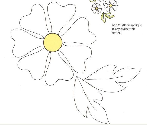 Best 25+ Flower applique ideas on Pinterest | Flower applique ... : quilting applique patterns free download - Adamdwight.com